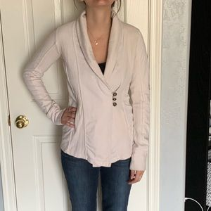 🦋 Lucky Brand cream soft jacket, size small